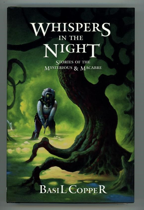 Whispers in the Night by Basil Copper Signed- High Grade