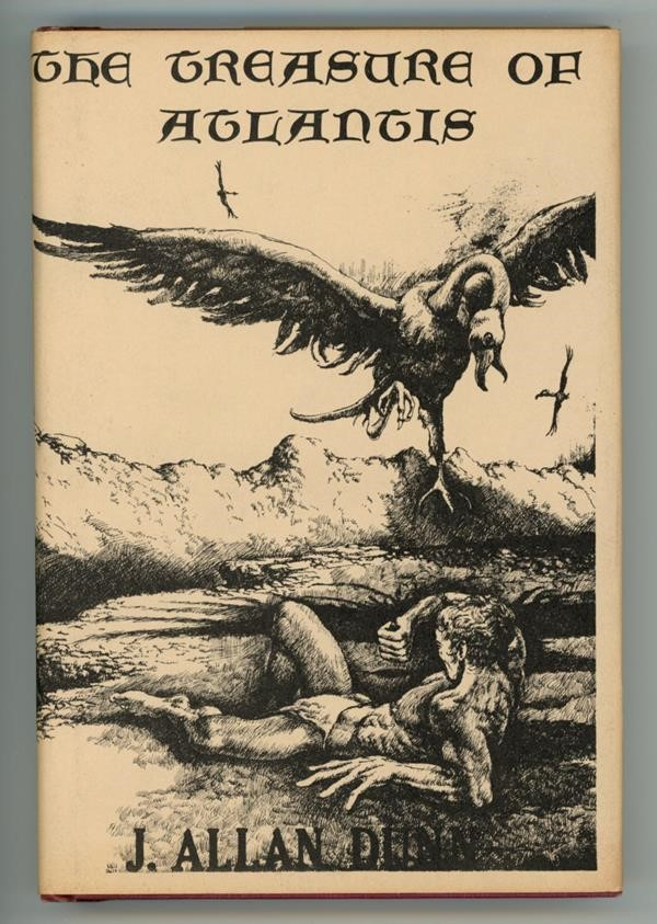 The Treasure of Atlantis by J. Allan Dunn First Edition