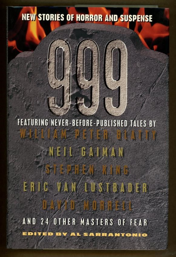 999: New Stories of Horror and Suspense by Al Sarrantonio (First Edition)- High Grade