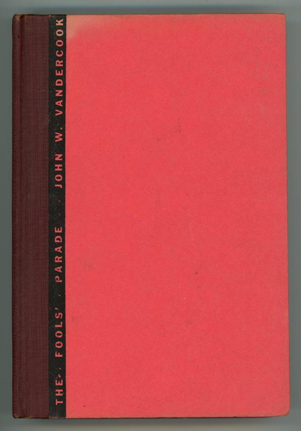 The Fool's Parade by John W. Vandercook (First Edition) Mahlon Blaine Art