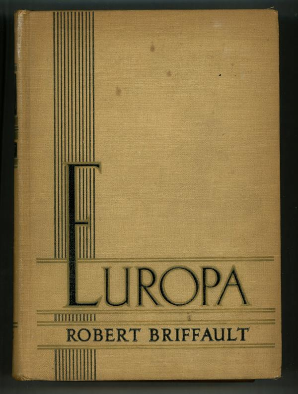 Europa: The Days of Ignorance by Robert Briffault