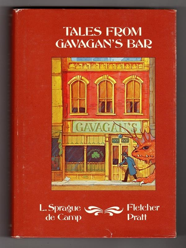 Tales from Gavagan's Bar by L. Sprague de Camp,  (Signed) Tim Kirk cvr