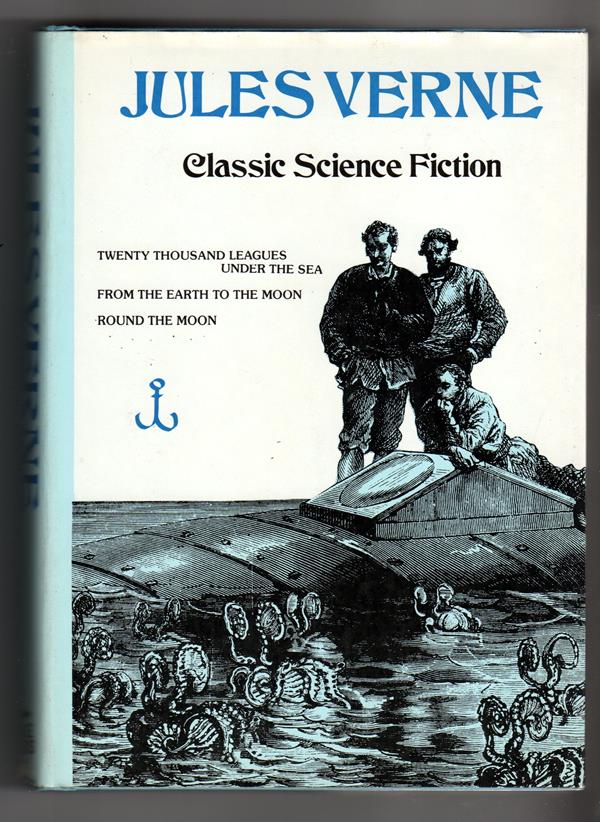 Jules Verne Classic Science Fiction by J. V. (Illustrated)- High Grade