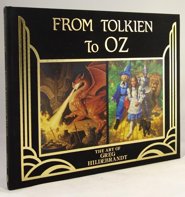 From Tolkien to Oz by William McGuire Signed- High Grade