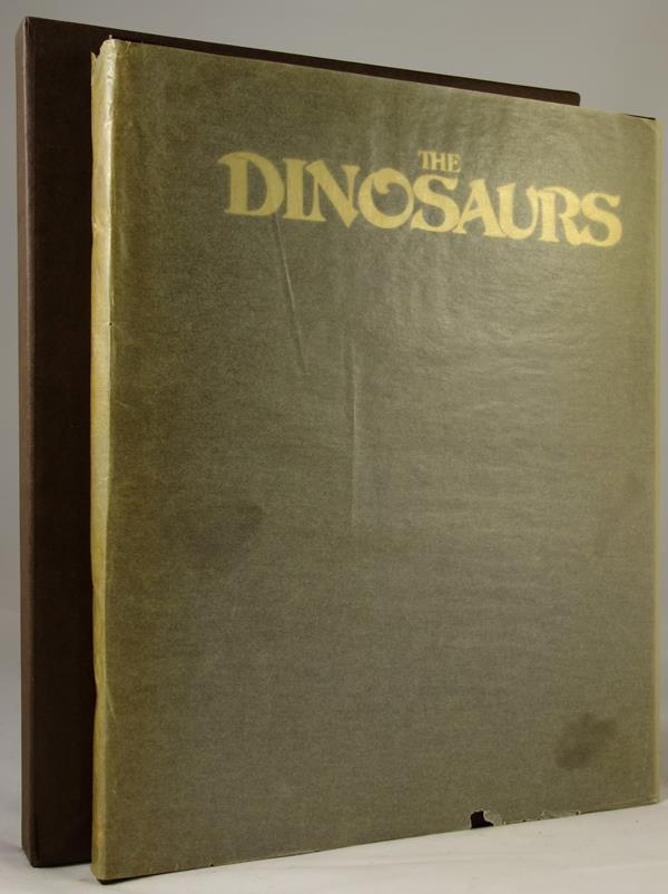The Dinosaurs a Fantastic New View of a Lost Era by William Service Signed, Limited- High Grade