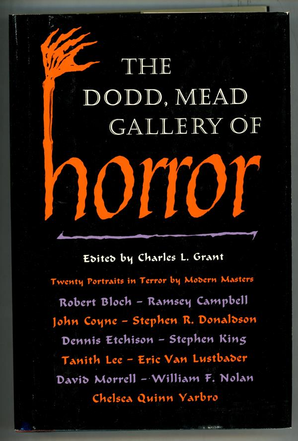 The Dodd, Mead Gallery of Horror by Charles L. Grant First Edition- High Grade