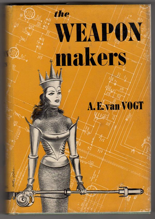 The Weapon Makers by A. E. van Vogt (Revised edition) HC w/DJ- High Grade