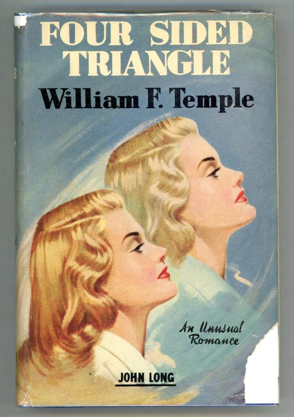 Four Sided Triangle by William F. Temple Signed- High Grade