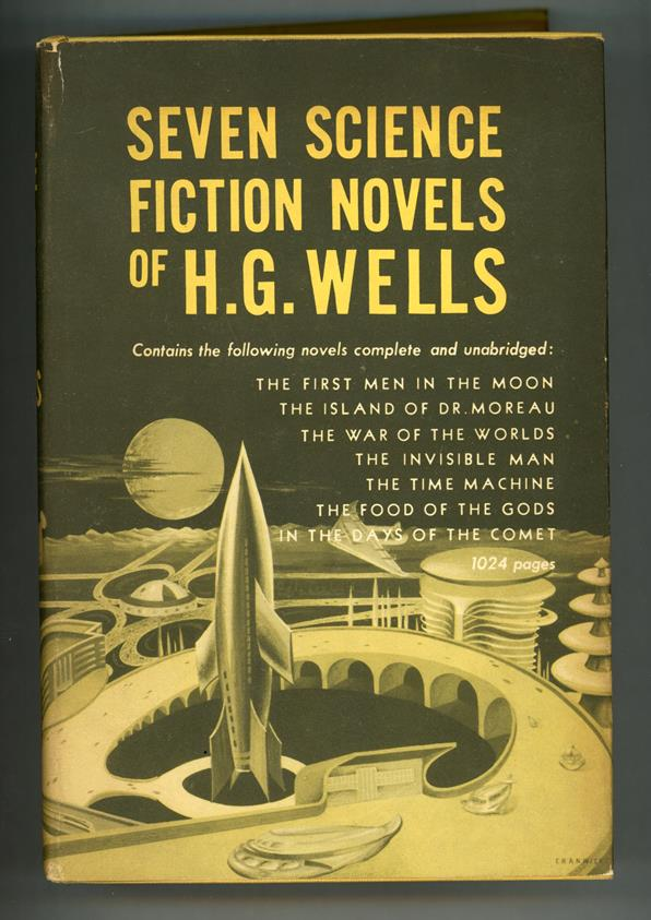 Seven Science Fiction Novels of H. G. Wells by H.G. Wells HC w/DJ