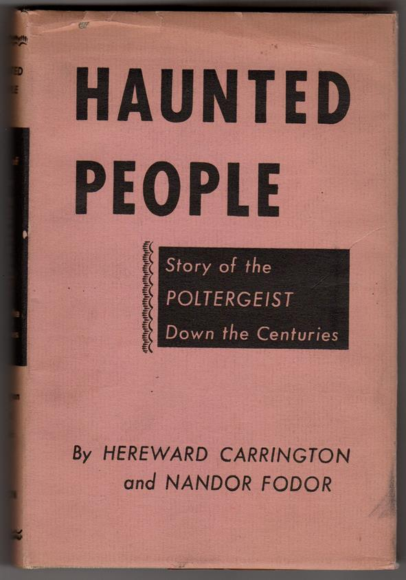 Haunted People by Hereward Carrignton HC w/DJ- High Grade