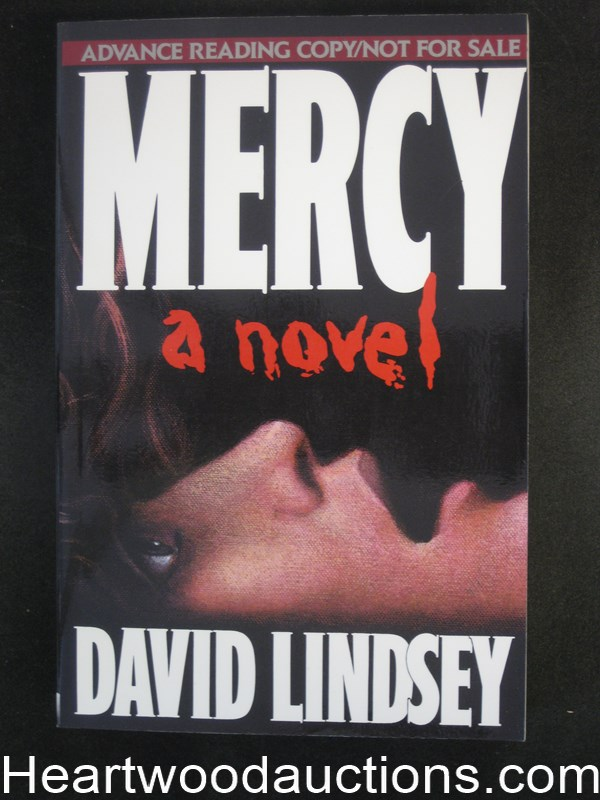 Mercy by David L. Lindsey Advance reading copy