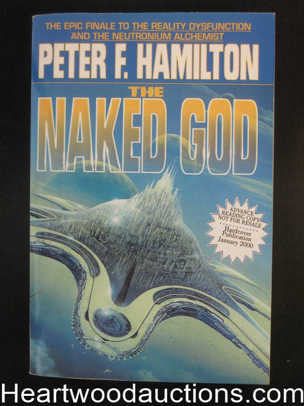 The Naked God by Peter F. Hamilton Uncorrected page proof.
