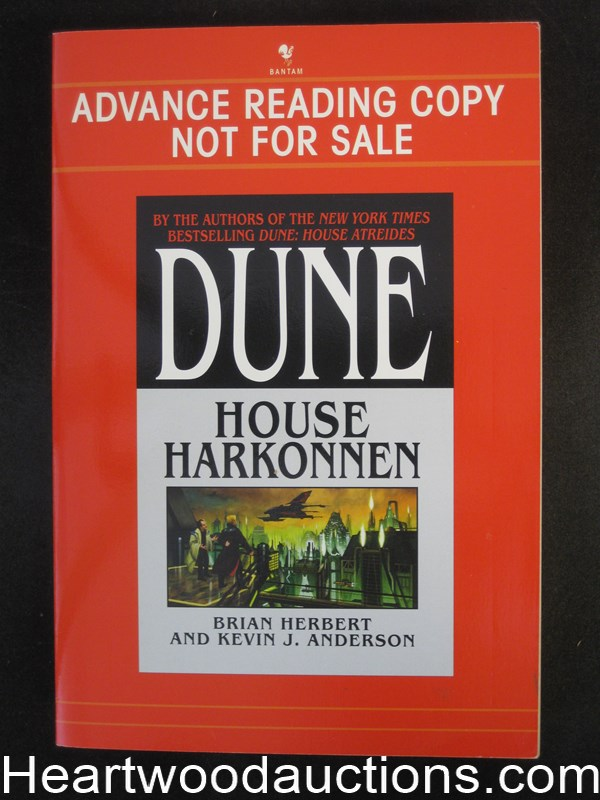 Dune House Harkonnen by Brian Herbert Advance reading copy
