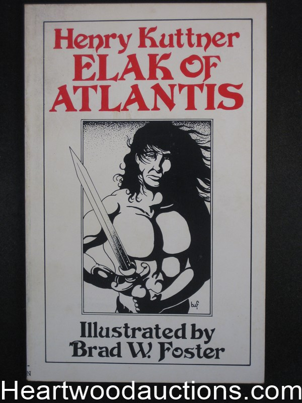 Elak of Atlantis by Henry Kuttner Limited Edition (SOFTCOVER)
