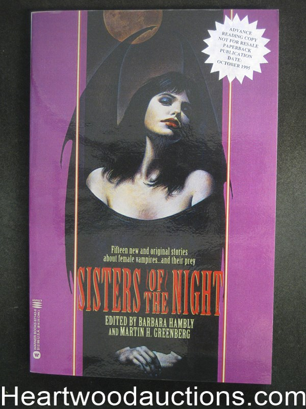Sisters of the Night by Barbara Hambly Advance Reading Copy- High Grade