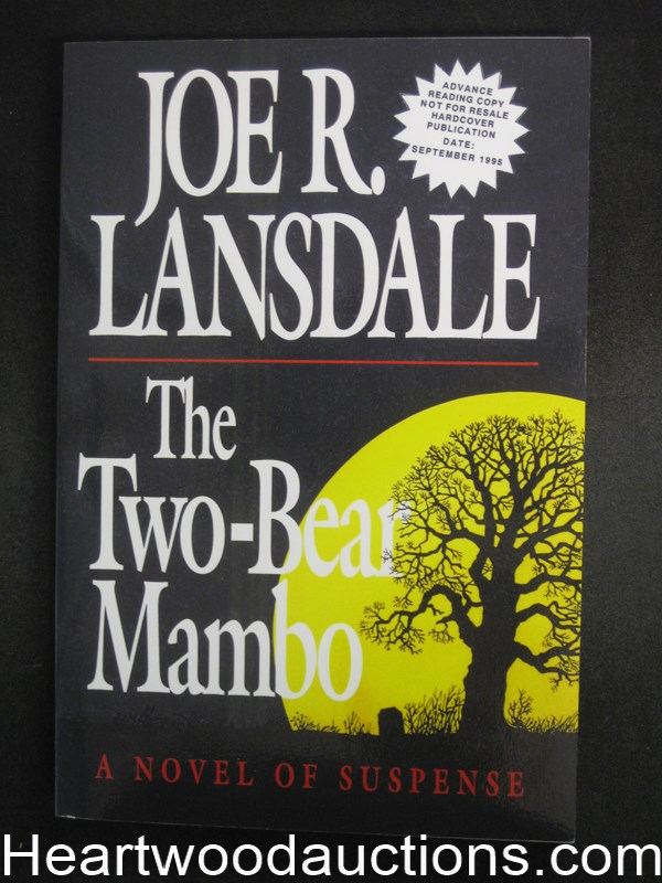 The Two-Bear Mambo by Joe R. Lansdale Advanced reading Copy  (SOFTCOVER)- High Grade