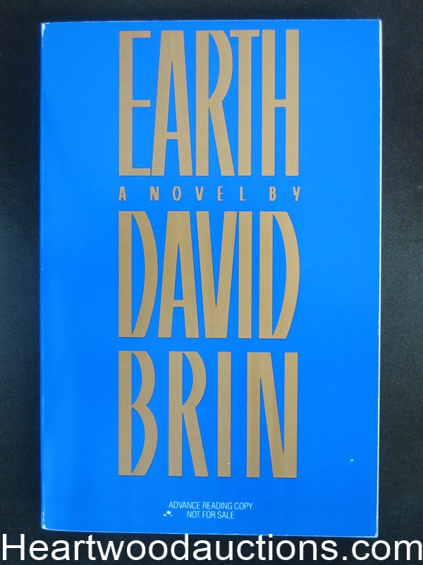 Earth by David Brin Advance Reading copy