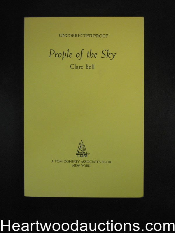 People of the Sky by Clare Bell- High Grade