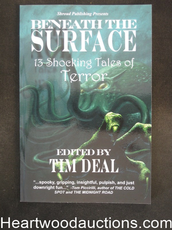Beneath the Surface by Tim Deal (Signed and Inscribed) (SOFTCOVER)