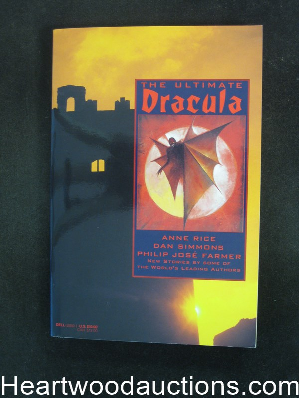 The Ultimate Dracula by Anne Rice- High Grade