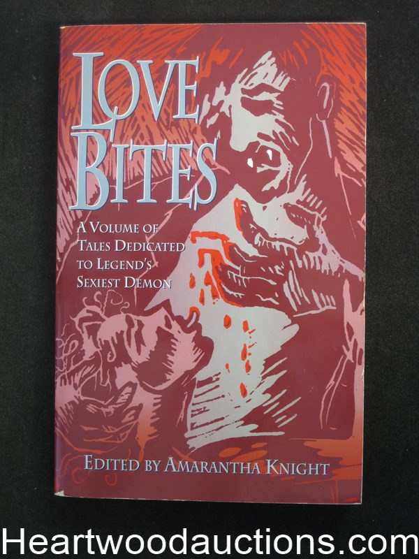 Love Bites by Amarantha  Knight (Signed)(Inscribed) (SOFTCOVER)