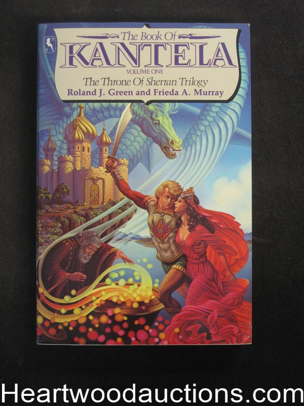 The Book Of Kantela by Roland J. Green- High Grade