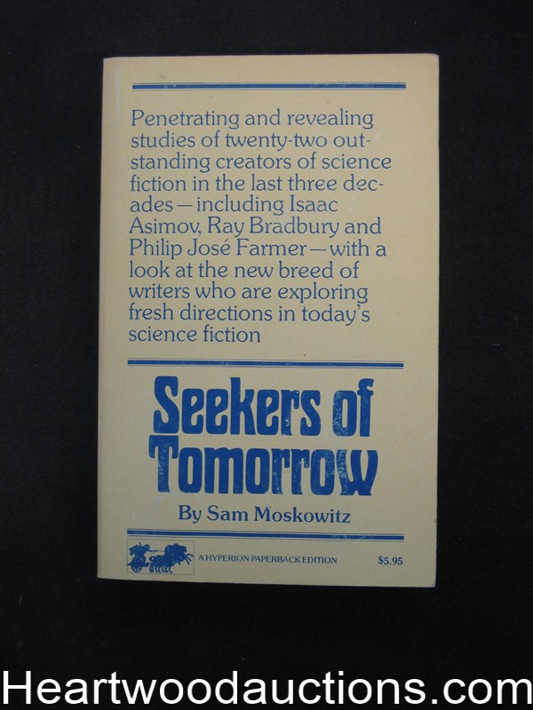 Seekers Of Tomorrow by Sam  Moskowitz (SOFTCOVER)