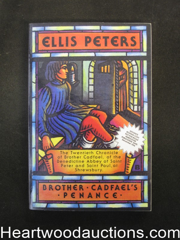 Brother Cadfael's Penance by Ellis Peters (first) (SOFTCOVER)