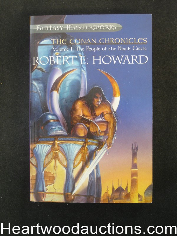 The Conan Chronicles Volume 1: The People Of The Black Circle by Robert E. Howard (SOFTCOVER)- High Grade