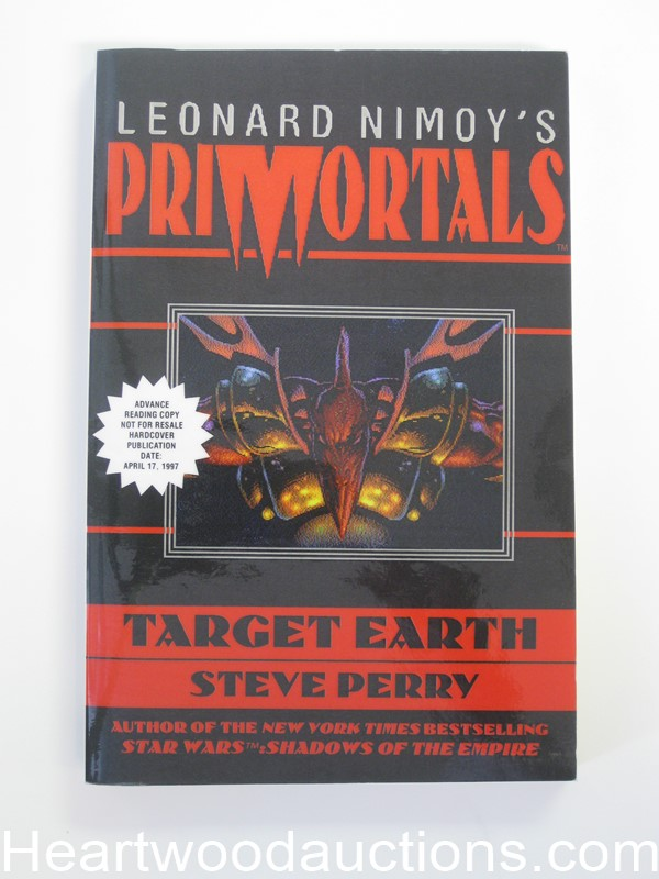 Primortals Target Earth by Leonard Nimoy (SOFTCOVER)