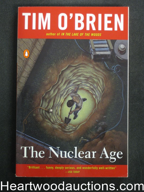 The Nuclear Age by Tim O'Brien (SOFTCOVER)- High Grade