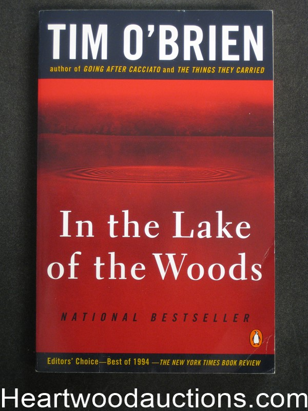 In The Lake Of The Woods by Tim O'Brien (SOFTCOVER)