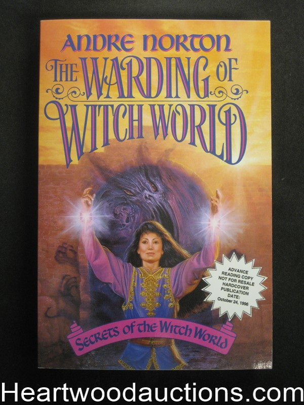 The Warding Of Witch World by Andre Norton (SOFTCOVER)- High Grade