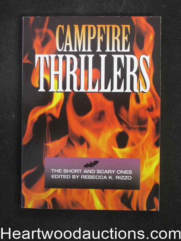 Campfire Thrillers by Rebecca K. Rizzo (SOFTCOVER)