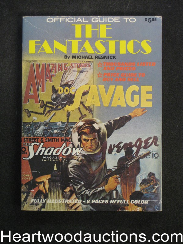 Official Guide To The Fantastics by Michael Resnick (SOFTCOVER)