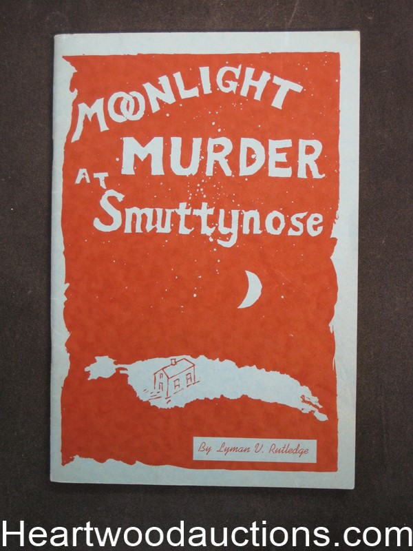 Moonlight Murder at Smuttynose by Lyman V. Ruthledge (SOFTCOVER)