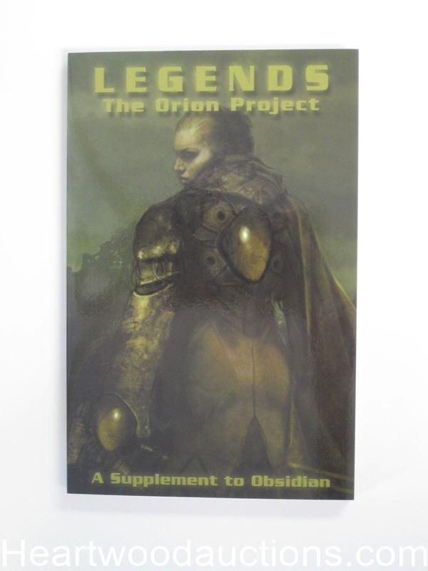 Legends: The Orion Project by Dav Harnish (SOFTCOVER)- Ultra High Grade