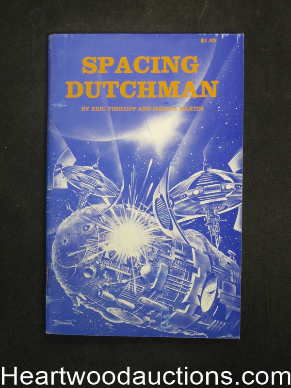 Spacing Dutchman by Eric Vinicoff (SOFTCOVER)- Ultra High Grade