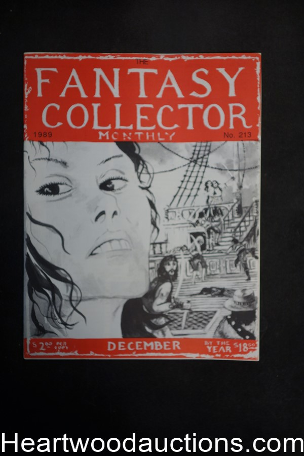 Fantasy Collector Monthly by C.E. Cazedessus II (SOFTCOVER)- High Grade