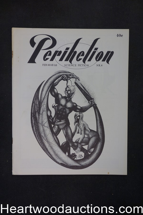 Perihelion #4 by Sam  Bellotto, Jr.Jeff Jones Art (co-editor) (SOFTCOVER)