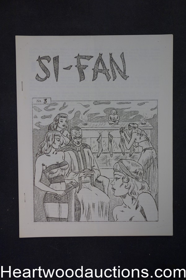 Si-Fan #3 by Jerry Page editor August Derleth's Copy (SOFTCOVER)- High Grade