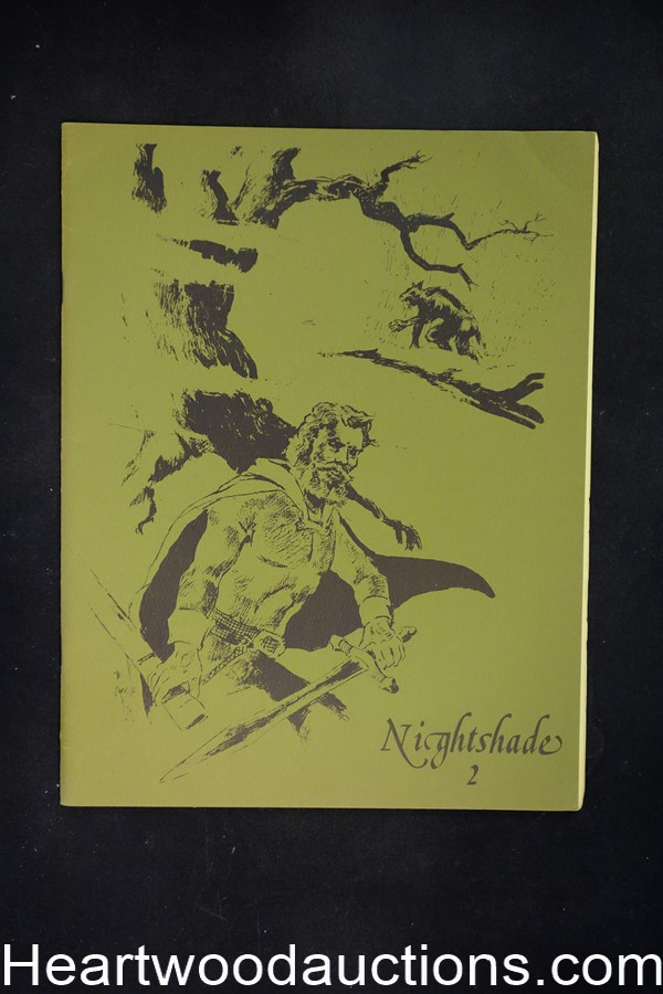 Nightshade 2 by Ken  Amos (editor/publisher) (SOFTCOVER)- High Grade