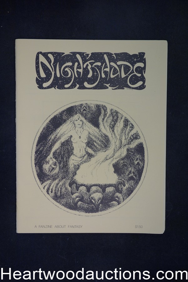 Nightshade 3 by Ken  Amos (editor/publisher) (SOFTCOVER)- High Grade