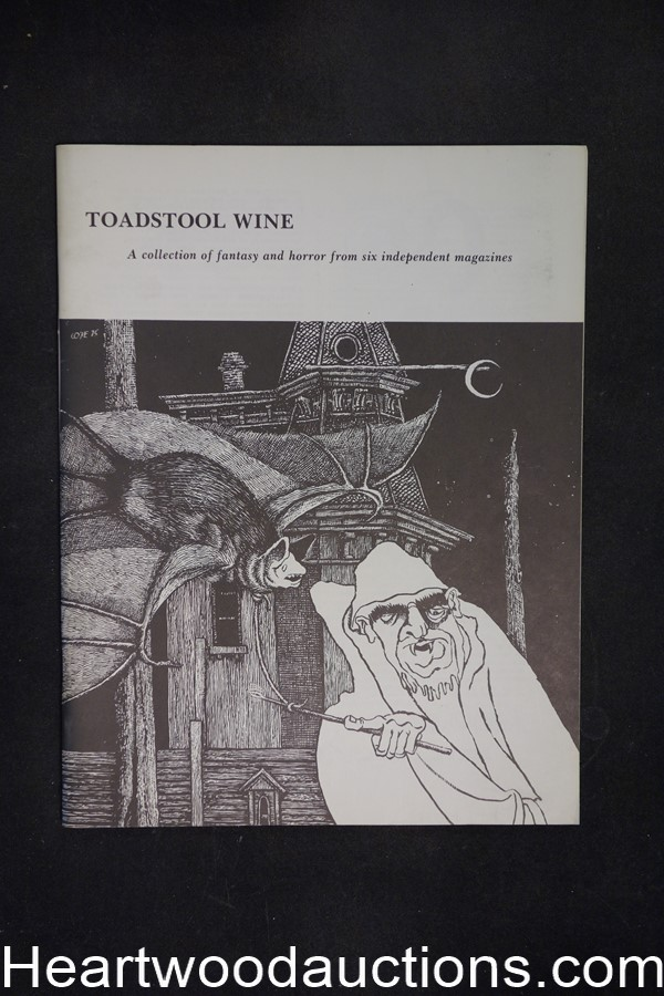 Toadstool Wine by Stuart David Schiff (editor) (SOFTCOVER)- High Grade