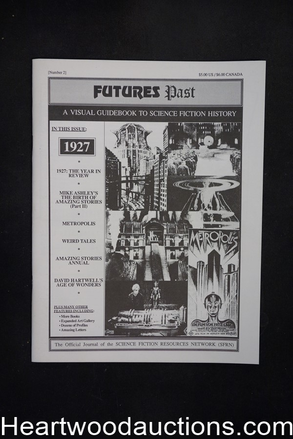 Futures Past: A Visual Guidebook to Science Fiction History by Jim Emerson #2 (editor) (SOFTCOVER)- High Grade