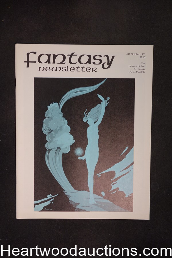 Fantasy Newsletter Vol. 4, No. 10, Whole #41 by Paul and Susan Allen (editor/Publisher) (SOFTCOVER)- High Grade