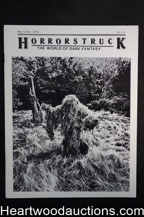 Horrorstruck: The World of Dark Fantasy V2-1 by Paul F. Olson (editor) (SOFTCOVER)- High Grade