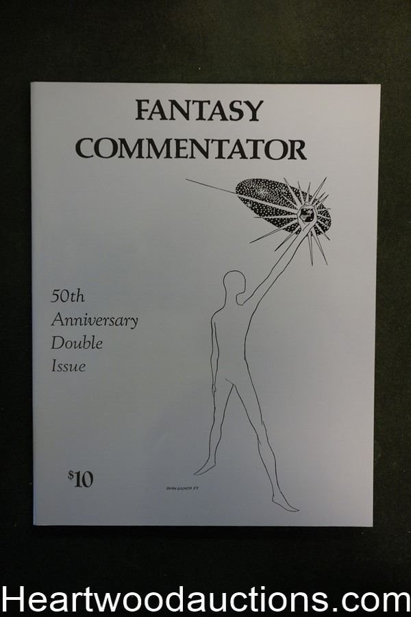 Fantasy Commentator 45 & 46 by A. Langley  Searles (SOFTCOVER)- High Grade
