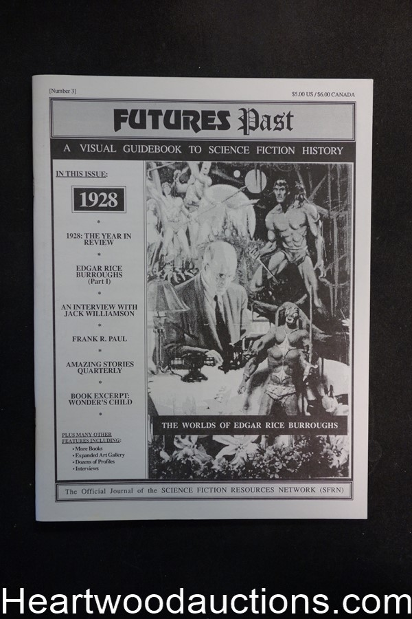 Futures Past #3 : A Visual Guidebook to Science Fiction History by Jim Emerson (editor) (SOFTCOVER)- High Grade