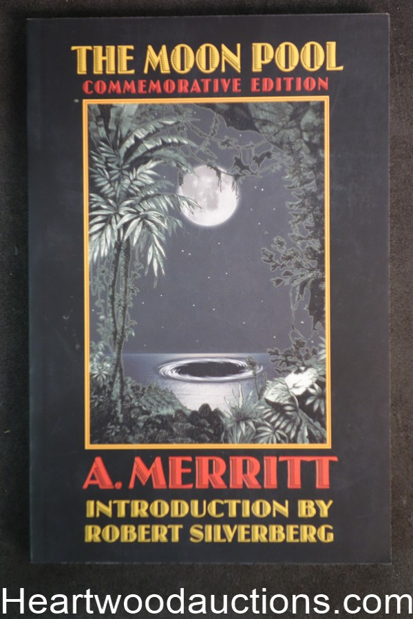 The Moon Pool by A. Merritt Silverberg intro (SOFTCOVER)